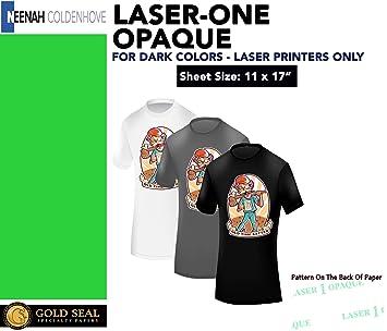 Amazon.com: Laser 1 opaco Transferencia de Calor 11