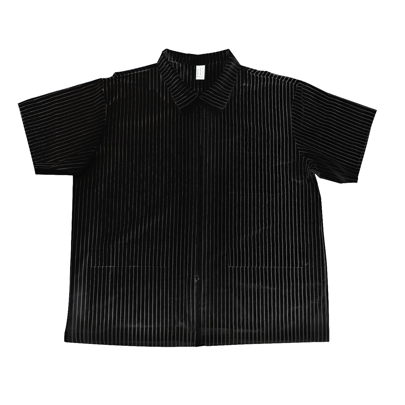 Betty Dain Signature MVP Barber Jacket, Black with White Stripes, X-Large, 1-Pound by Betty Dain