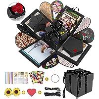 DASIAUTOEM Explosion Box, Caja de Regalo Amor Memoria Creative DIY Álbum de Fotos de Scrapbooking Hecho a Mano Sorpresa…