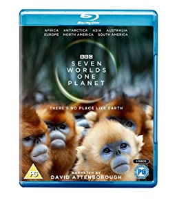 Seven Worlds, One Planet [Blu-ray] [2019]