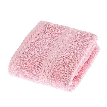 Juego de toallas de baño, de Homescapes. Toallas rosadas de algodó