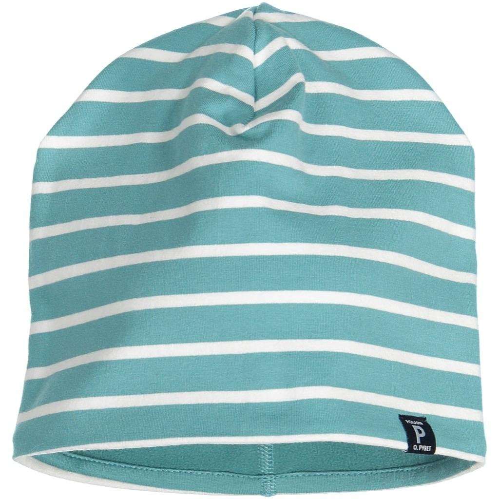 Polarn O. Pyret Fleece Lined ECO Beanie (2-9YRS) - Bristol Blue/2-9 Years