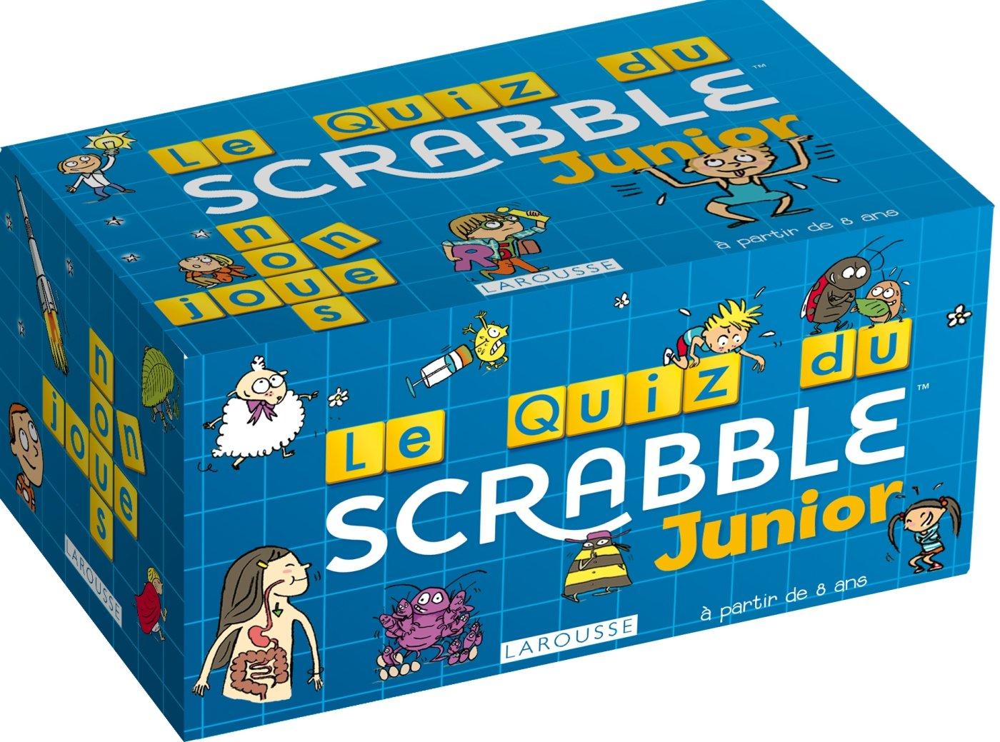 Le Quiz du Scrabble Junior© (Boîtes Quiz): Amazon.es: Meyer, Aurore, MaY: Libros en idiomas extranjeros