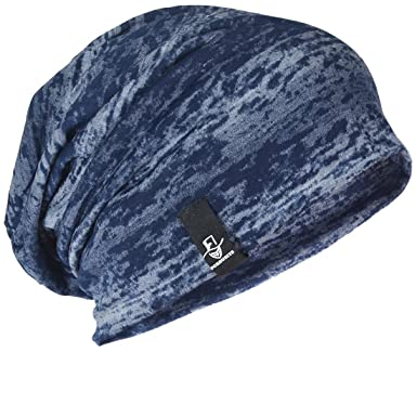 1b70c101733 FORBUSITE Men Women Basic Slouch Thin Beanie Skull Cap for Summer B301 -  Blue -  Amazon.co.uk  Clothing