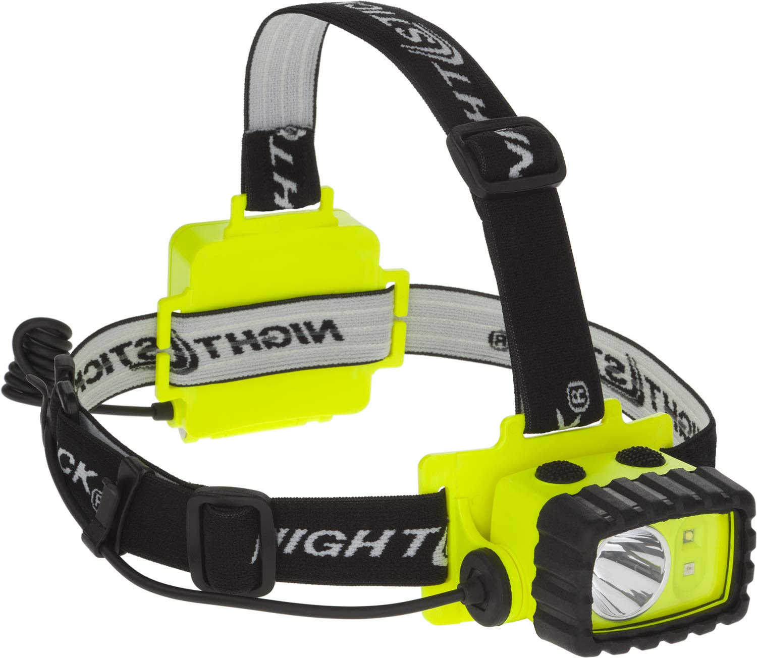 Nightstick XPP-5458G Intrinsically Safe Permissible Dual-Light Multi-Function Headlamp, Green by Nightstick