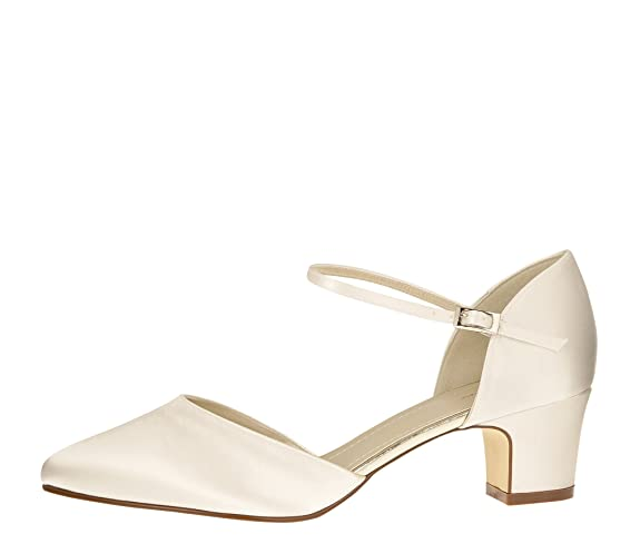 Vintage Wedding Shoes, Flats, Boots, Heels Rainbow Club Women's Ankle £117.58 AT vintagedancer.com