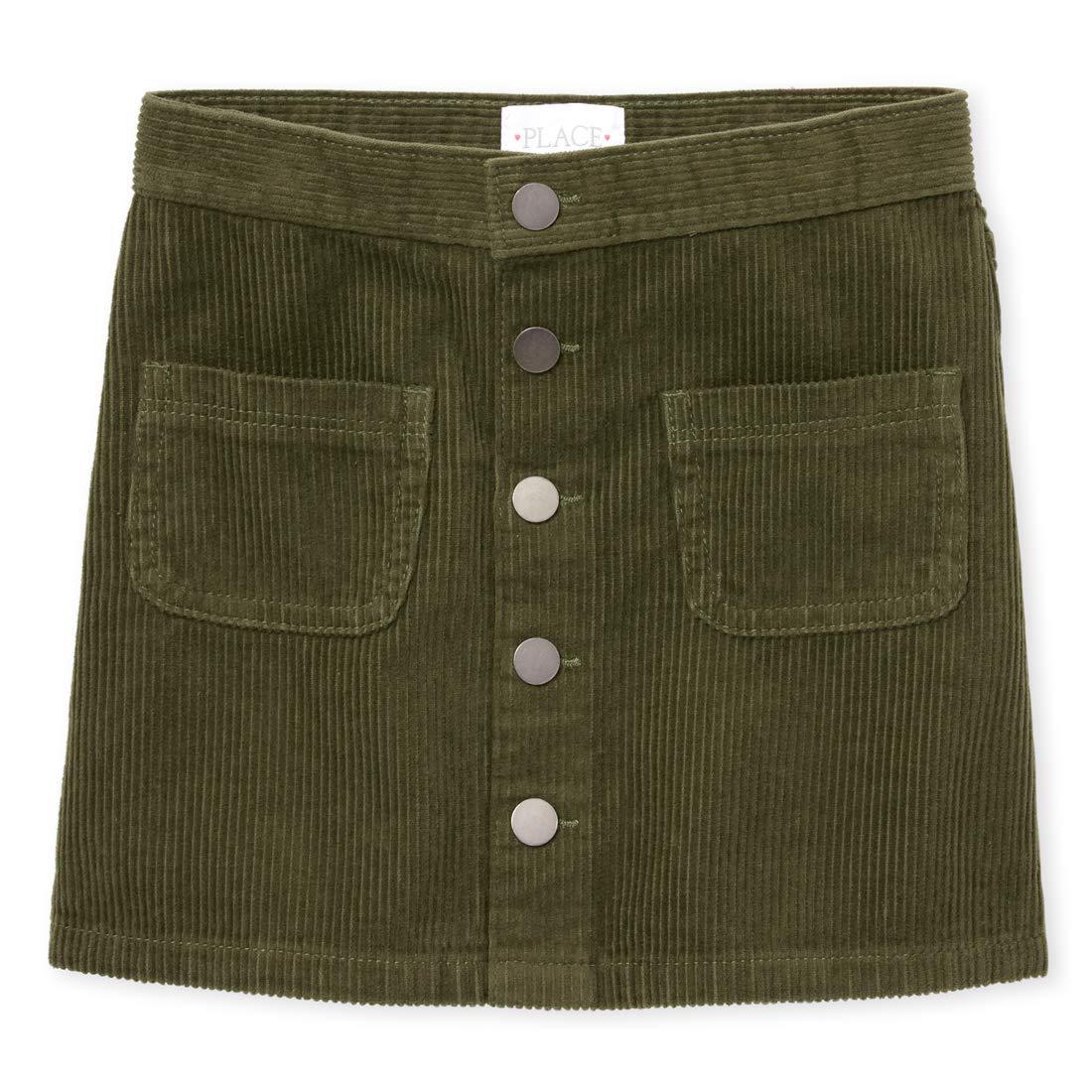 The Childrens Place Girls Big Corduroy Skirt