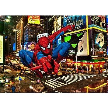 Fondo de vinilo para fotografía de superhéroe de Spiderman ...
