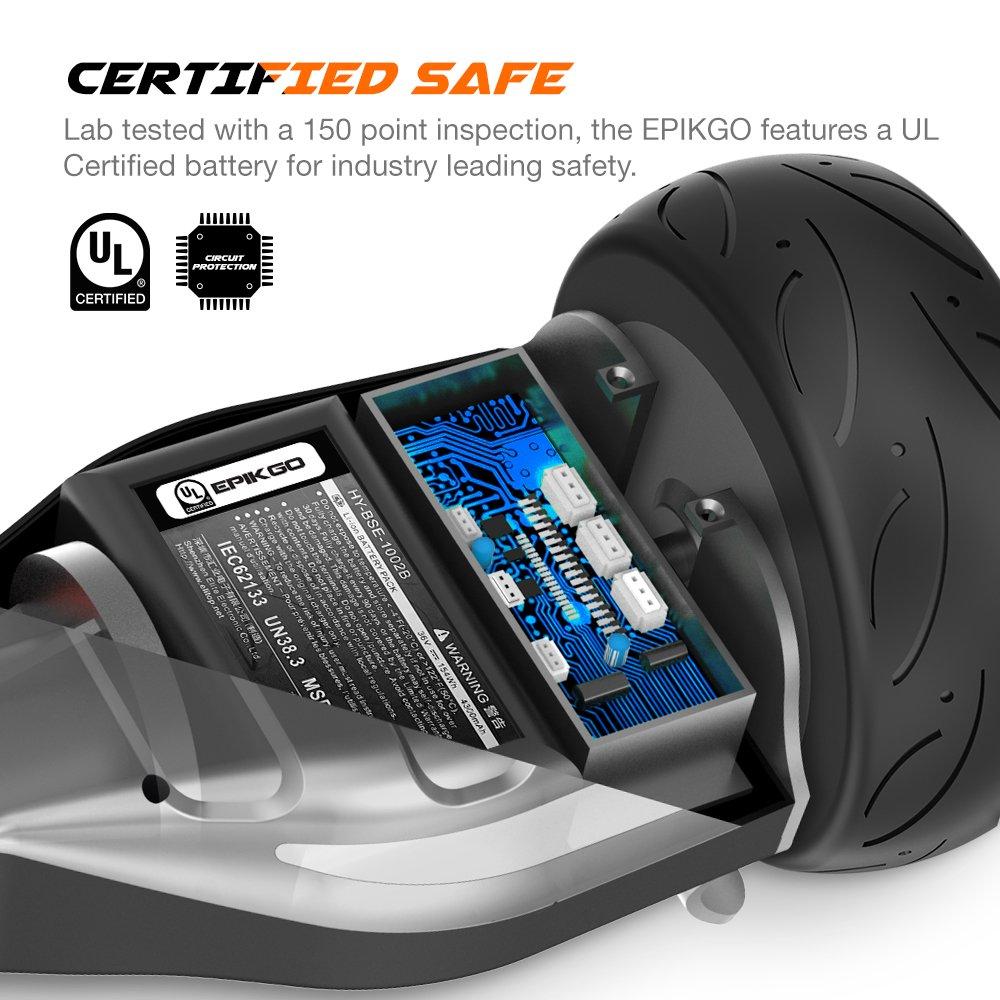 Amazon.com: Tabla hoverboard todoterreno de con ruedas de ...