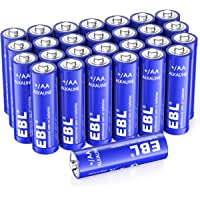 Deals on EBL Alkaline AA Batteries 28 Count