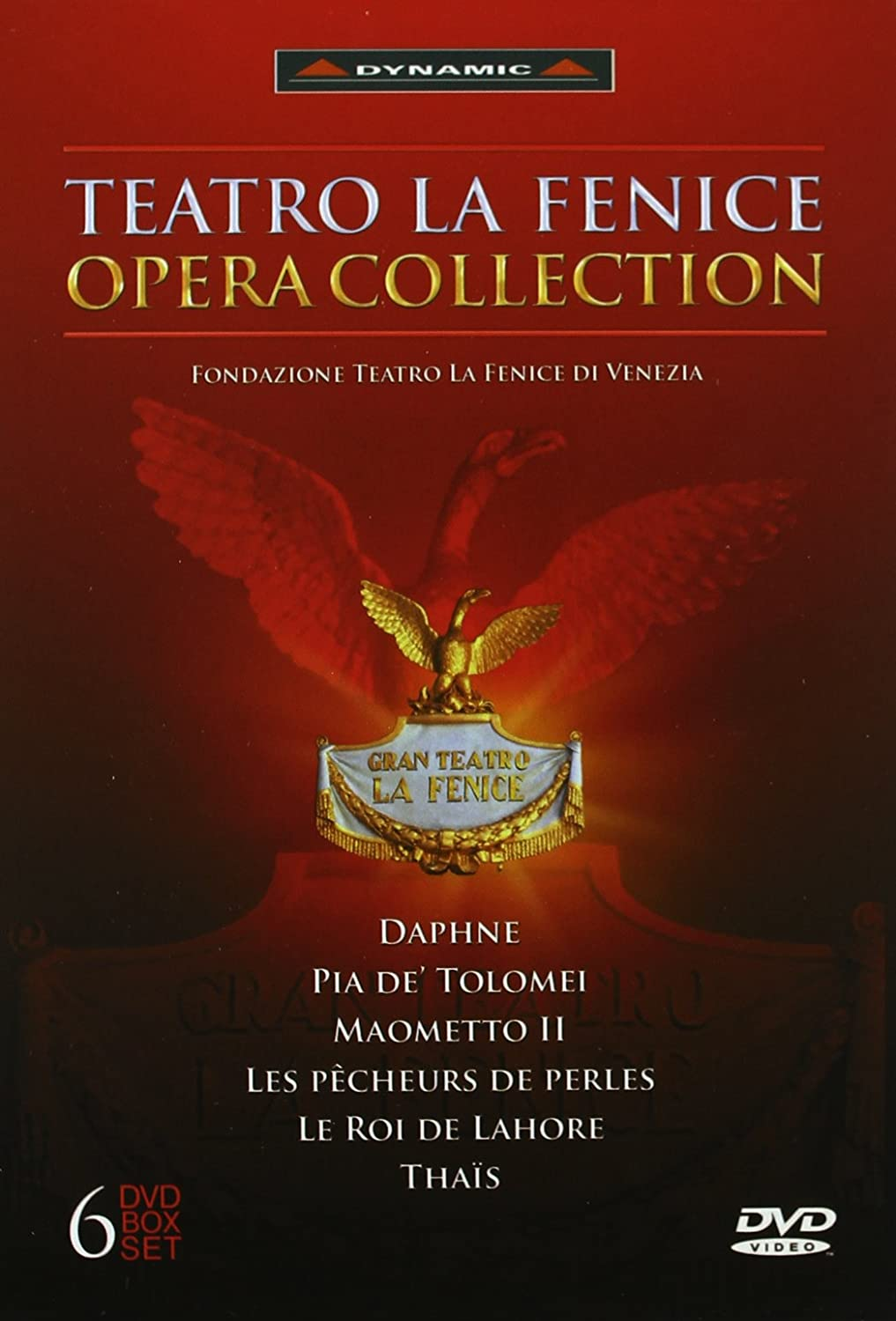 FENICE OPERA COLLECT [DVD] [Import] B000WEWIZE