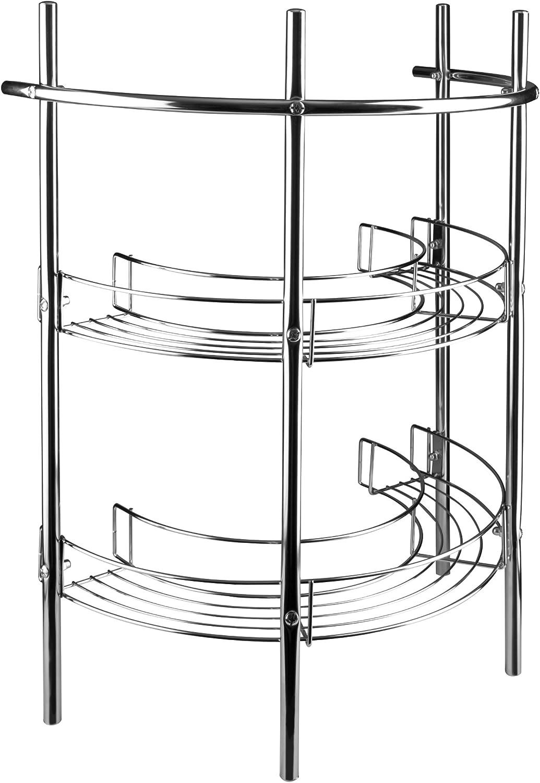 Croydex - Estantería para Debajo de Lavabo (2 estantes), cromada