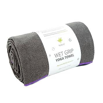 Gran tamaño Toalla de Yoga (Alfombrilla, adherencia en ...
