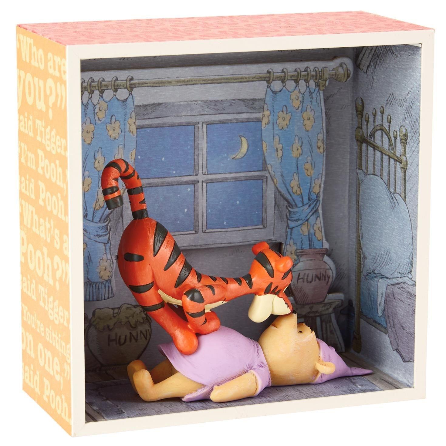 Hallmark Winnie the Pooh Meets Tigger Shadow Box