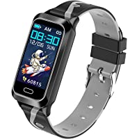 Inspiratek Kids Fitness Tracker for Girls and Boys Age 5-16 (5 Colors), Kids Activity Tracker, Fitness Watch for Kids…