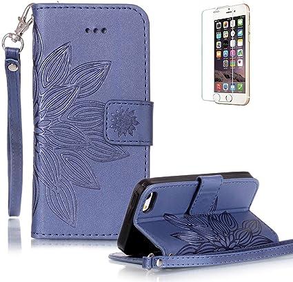 Custodia Cellulare Custodia Wallet con carte Supporto per Apple iPhone 5