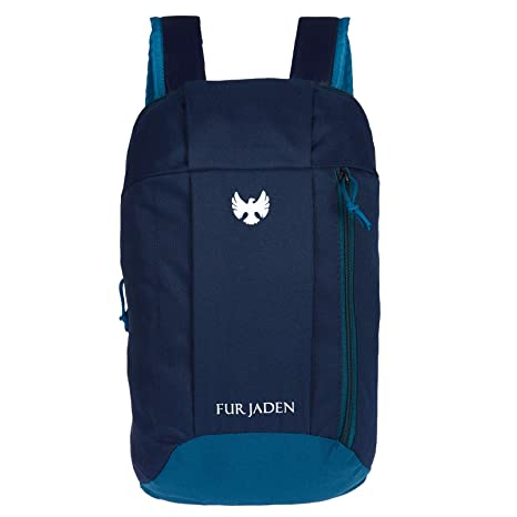 1e409cb2ed9 Fur Jaden 10L Hiking Camping Rucksack Casual Waterproof Backpack (Blue)   Amazon.in  Bags