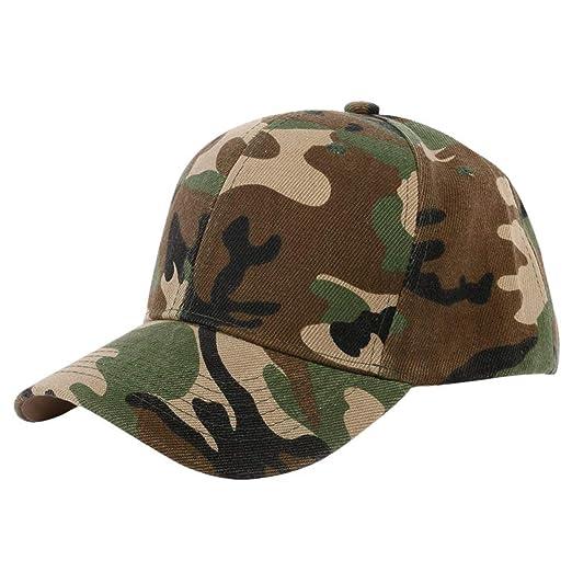 ANDERDM Men and Women Baseball Cap Camouflage Hat Gorras Militares Hombre Adjustable Snapbacks Caps,A1