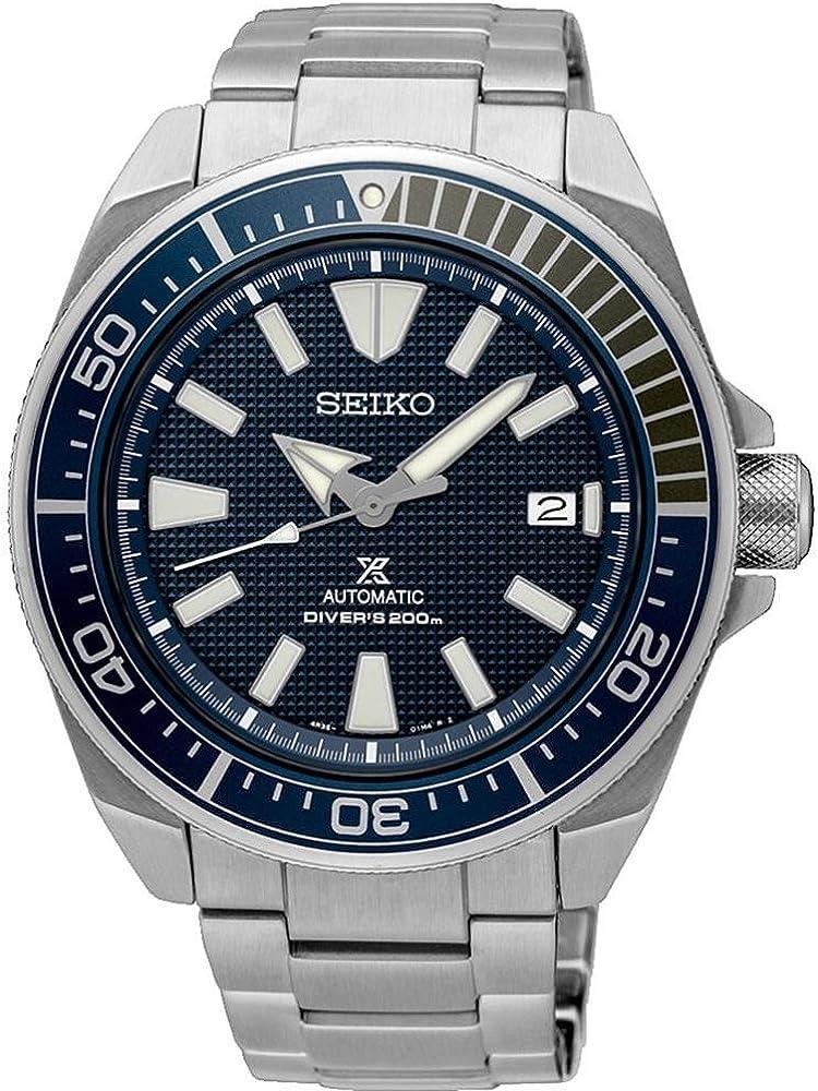 "SEIKO PROSPEX Diver's 200M""Samurai"" Deep Blue Dial SRPB49K1"