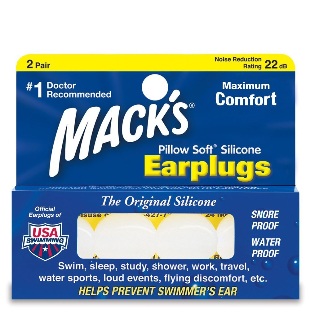 Mack de taie d'oreiller doux Bouchons d'oreille, 2paires de chaque SuperValu Inc. MCK000005