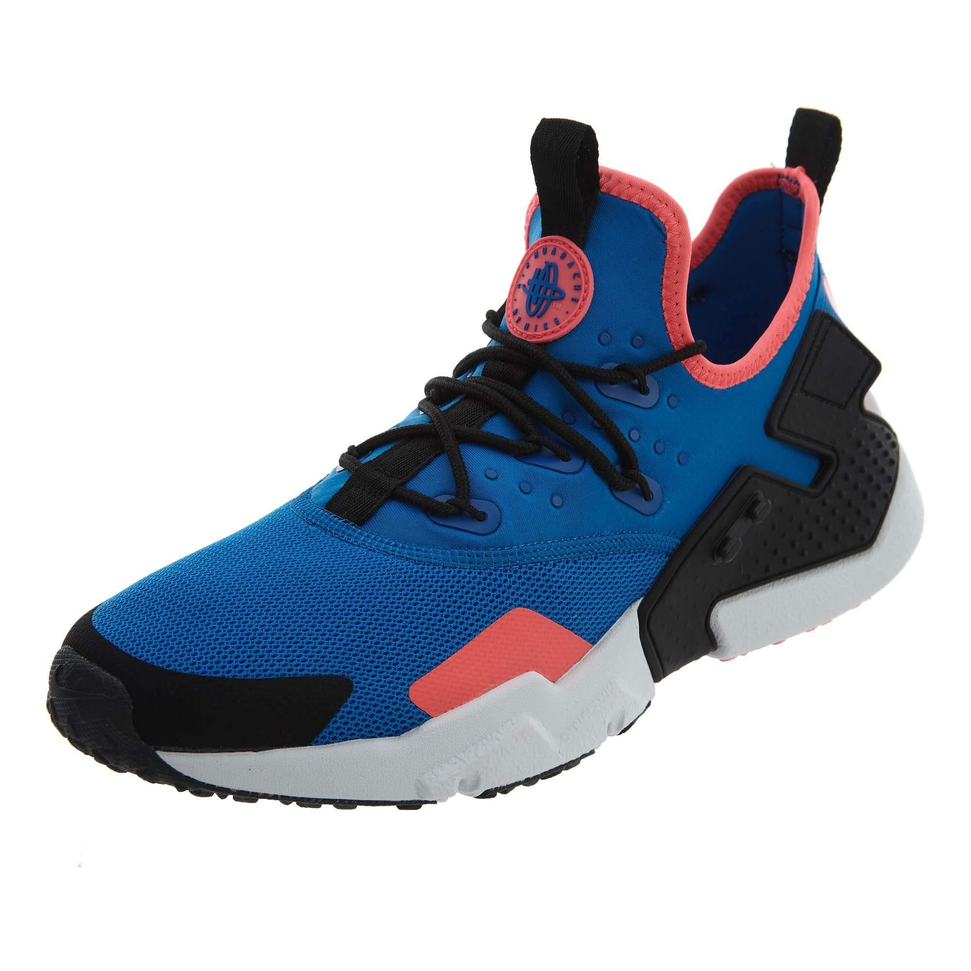 841e0af2b936b Nike Men's Air Huarache Drift Running, Blue Nebula/Black-Black-White, Size  8.5
