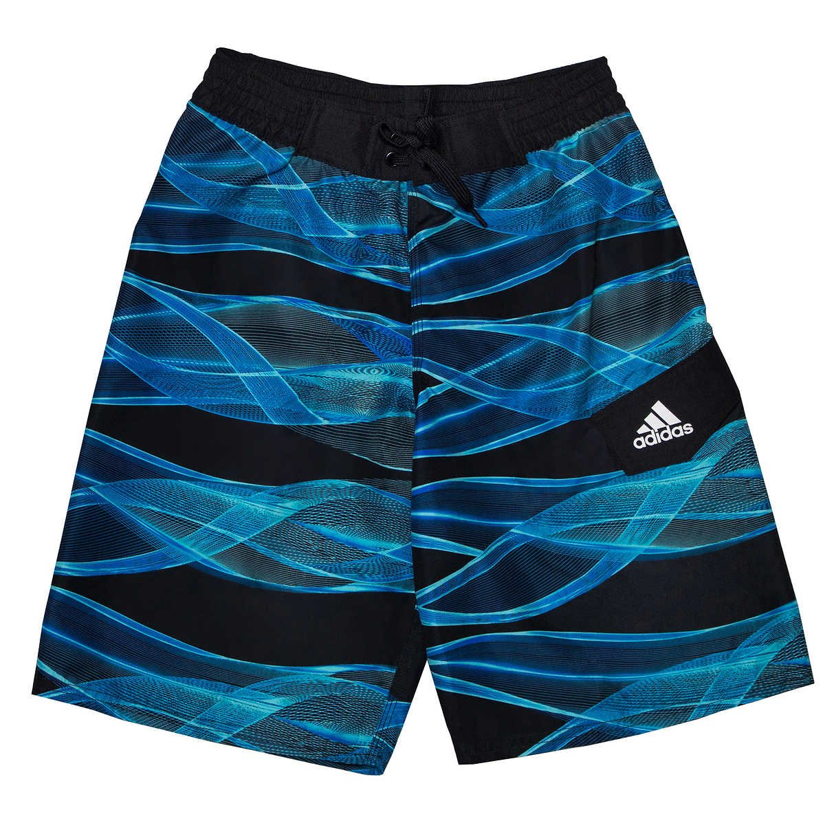adidas Boys Boardshorts Royal Large