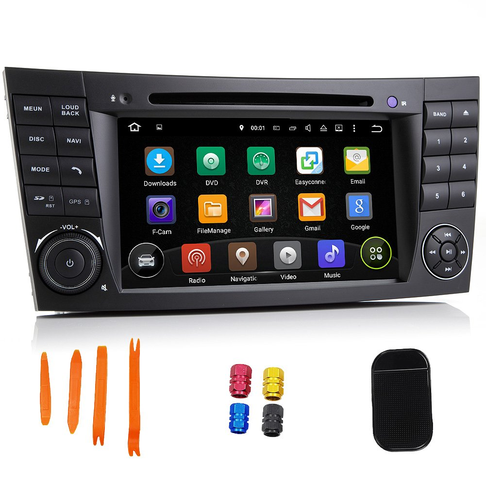 Amazon com: Android 5 1 1 Two Din Car DVD 7 Inch Car Stereo