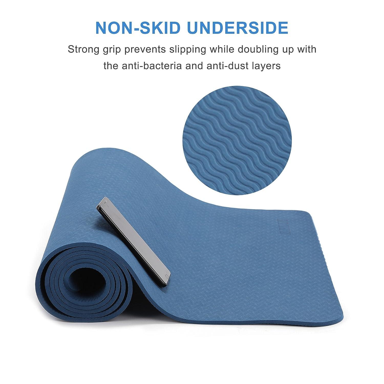 Amazon.com : ZELUS TPE Material Yoga Mat 72\