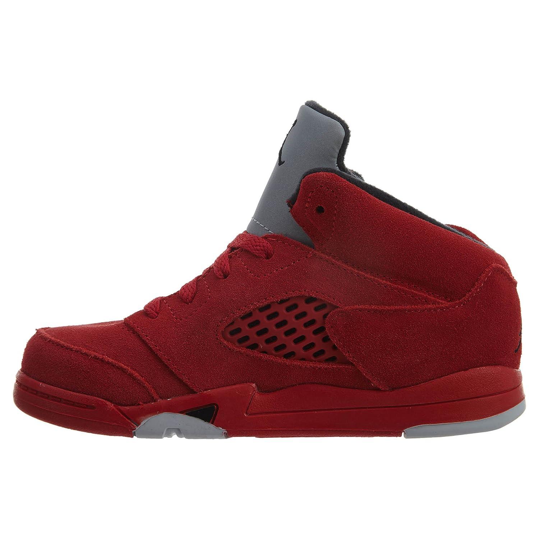 1d13dbcd67d7ea Jordan 5 Red Suede T Shirts