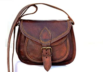 d76cc45e17b3 Buy Mk Bags Leather Brown Sling Bag for Women Online at Low Prices in India  - Amazon.in