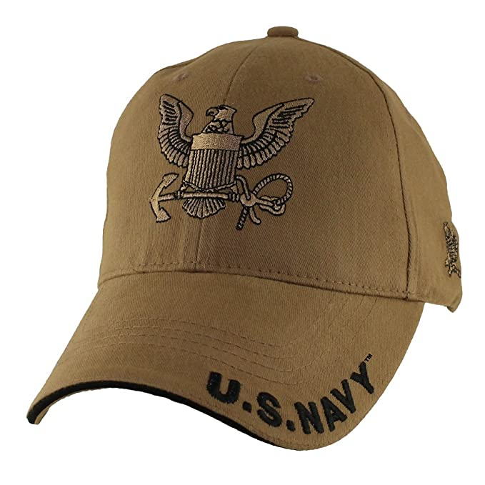 c2dc672c99cbf Amazon.com  U.S. Navy Logo Baseball Hat