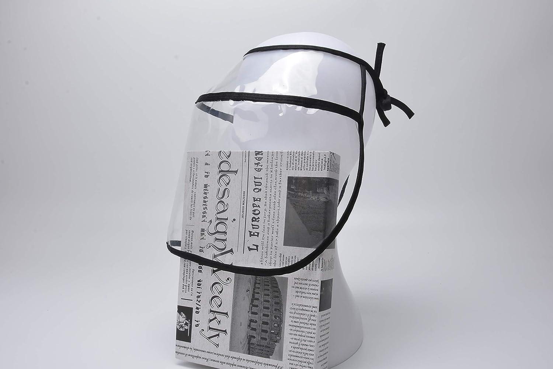 A Prueba De Salpicaduras Tapa Protectora Abollria Protector Facial Transparente Ajustable,Sombrero de protecci/ón Multifuncional a Prueba de Polvo
