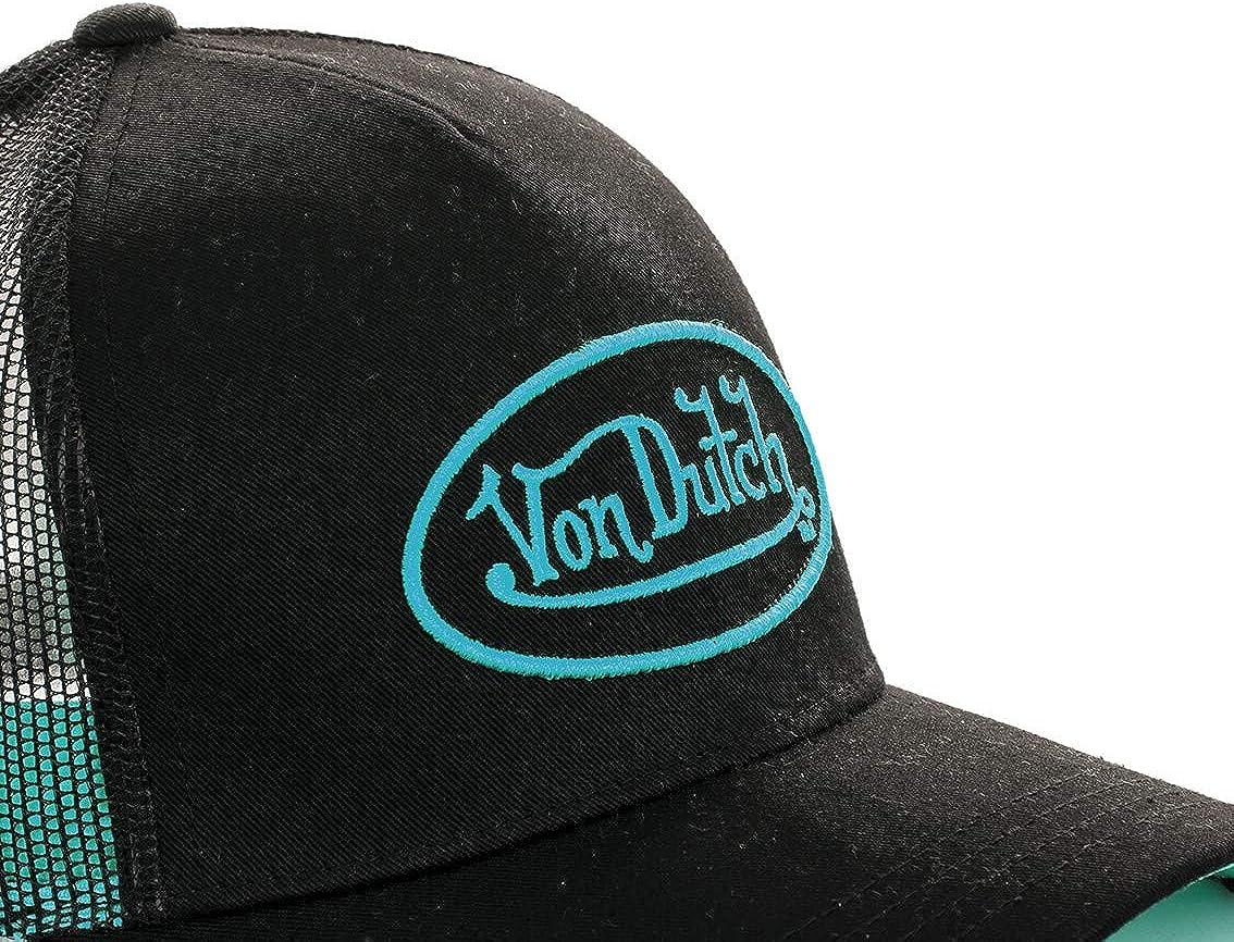 Von Dutch Neo da uomo Berretto da baseball stile trucker colore: azzurro//nero