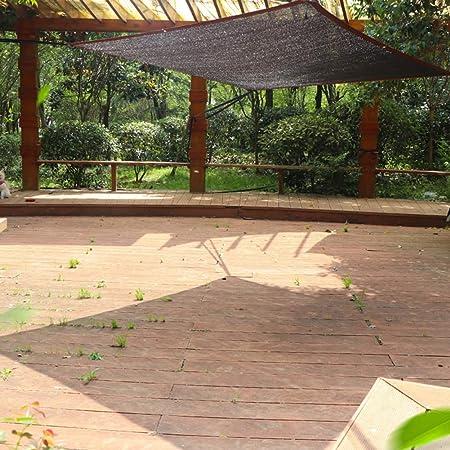 HYDT Tela de Sombra Red de Sombra Liviana con Borde, Cubierta de Tela de Sombra Protector Solar Negra para Plantas de jardín en Exteriores, Anti-UV (Size : 4×5m): Amazon.es: Hogar