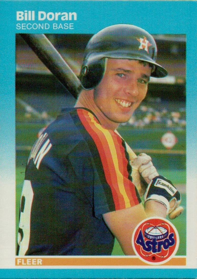 1987 Fleer Factory Set Glossy #67 Nolan Ryan Houston Astros Baseball Card