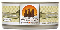 Weruva Classic Grain-Free Cat Food Cans
