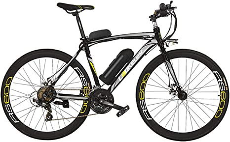 Extrbici City Bike RS600 700C 240W 36V 20A Aleación de aluminio ...