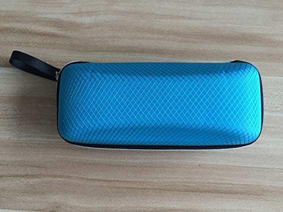 Bodhi2000 Travel Portable Eye Glasses Case Hard Shell Protects Sunglasses Zipper Pouch Bag