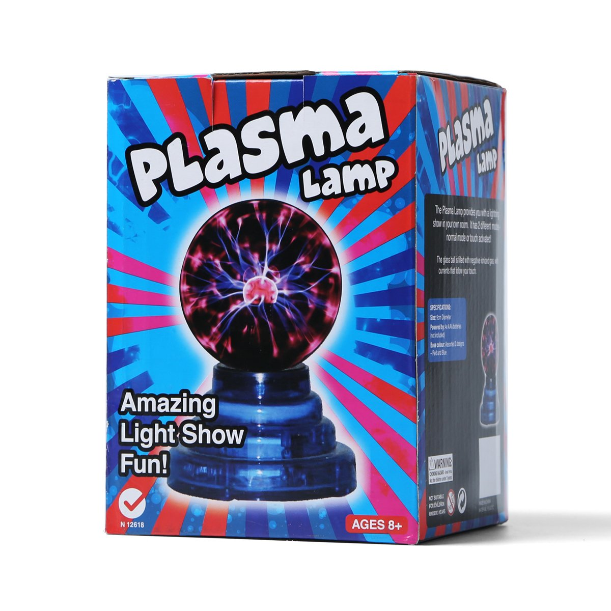 Plasma Ball Touch Sensitive 3 Inch Small Plasma Lamp Usb Or Battery Power Supply Lightning Sphere Light