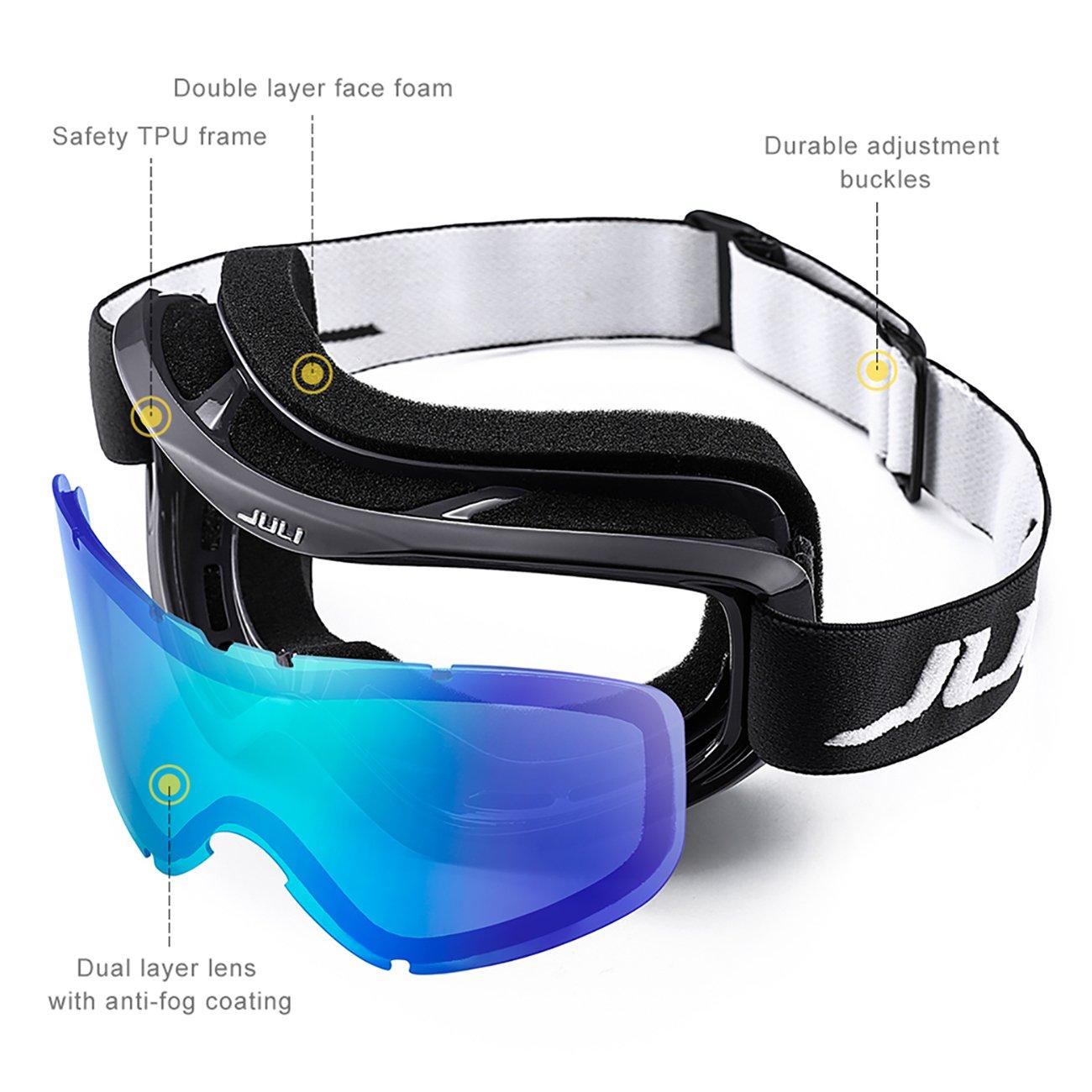 d691d088b8 JULI Ski Goggles
