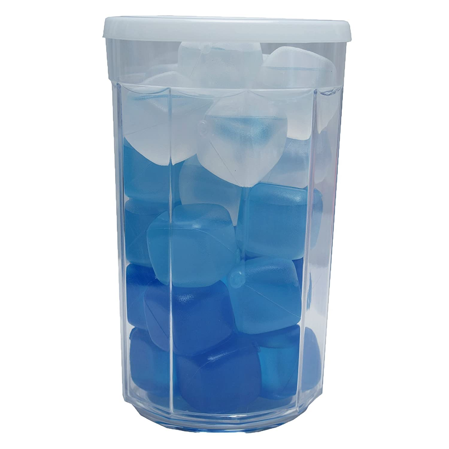 Amazoncom Icy Cools Cool Blues Reusable Ice Cubes For Your Drink