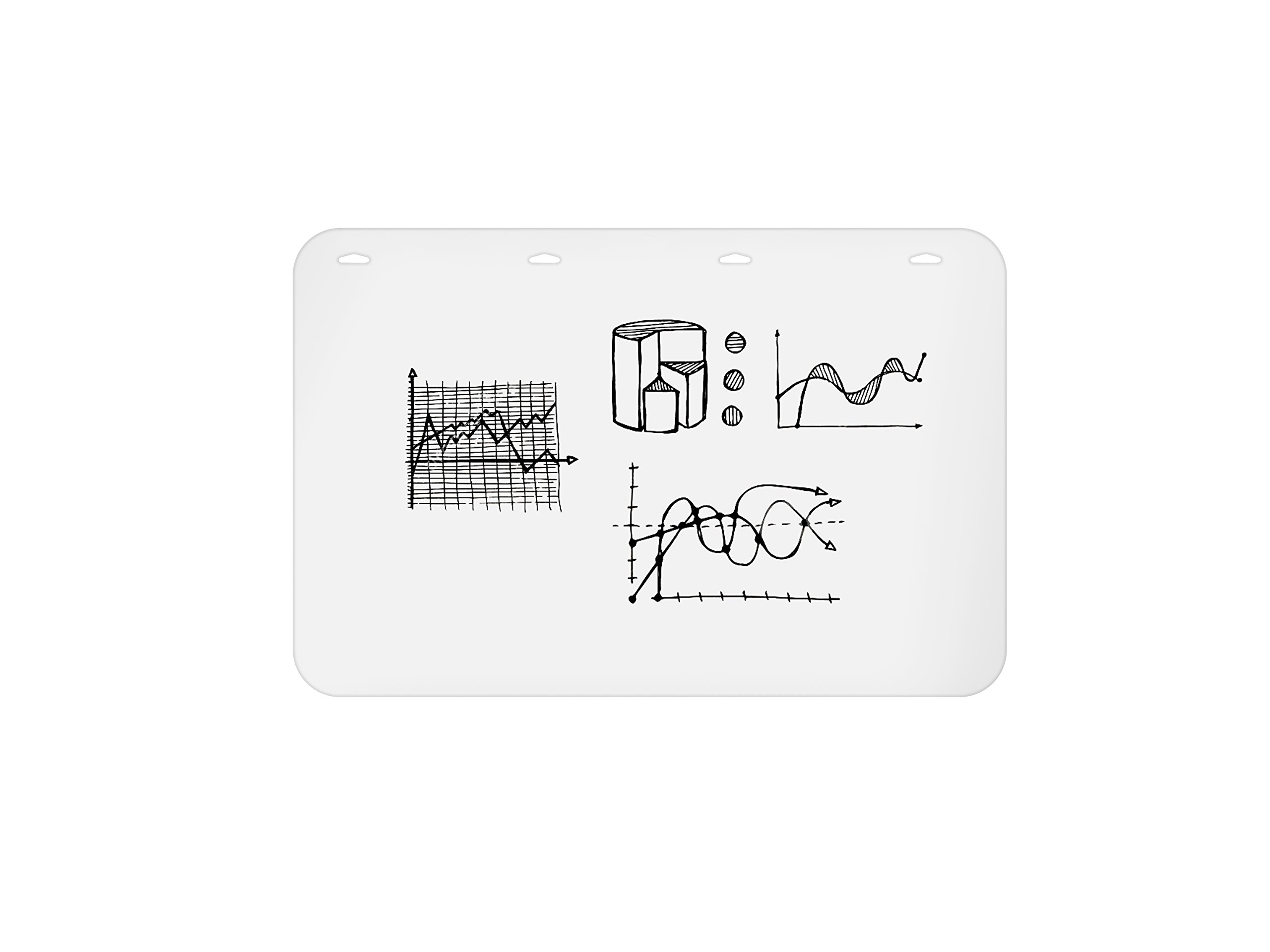 Rocada Rolled Polypropylene Whiteboard, Pack of 5, 35.5'' x 47'' x 0.02'' (RD-P2UV04)