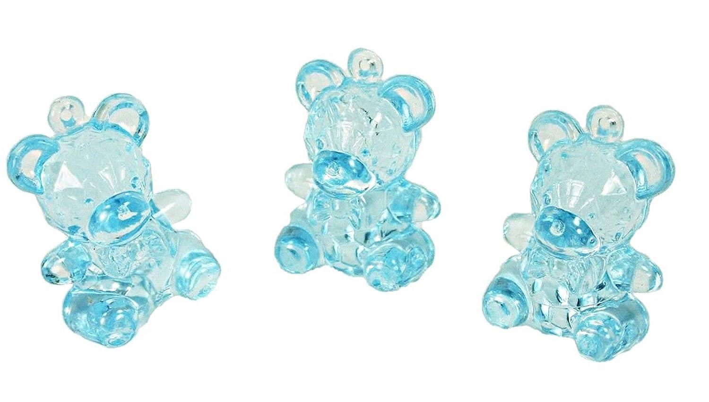 Amazon.com: 72 Mini Crystal como transparente Baby Shower ...