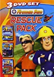 Fireman Sam - Rescue Pack (Triple Pack) [2012] [DVD]
