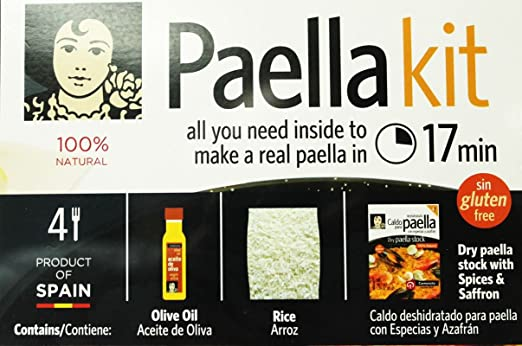 Amazon.com : Complete paella kit Ready in 17 minutes by Carmencita : Grocery & Gourmet Food
