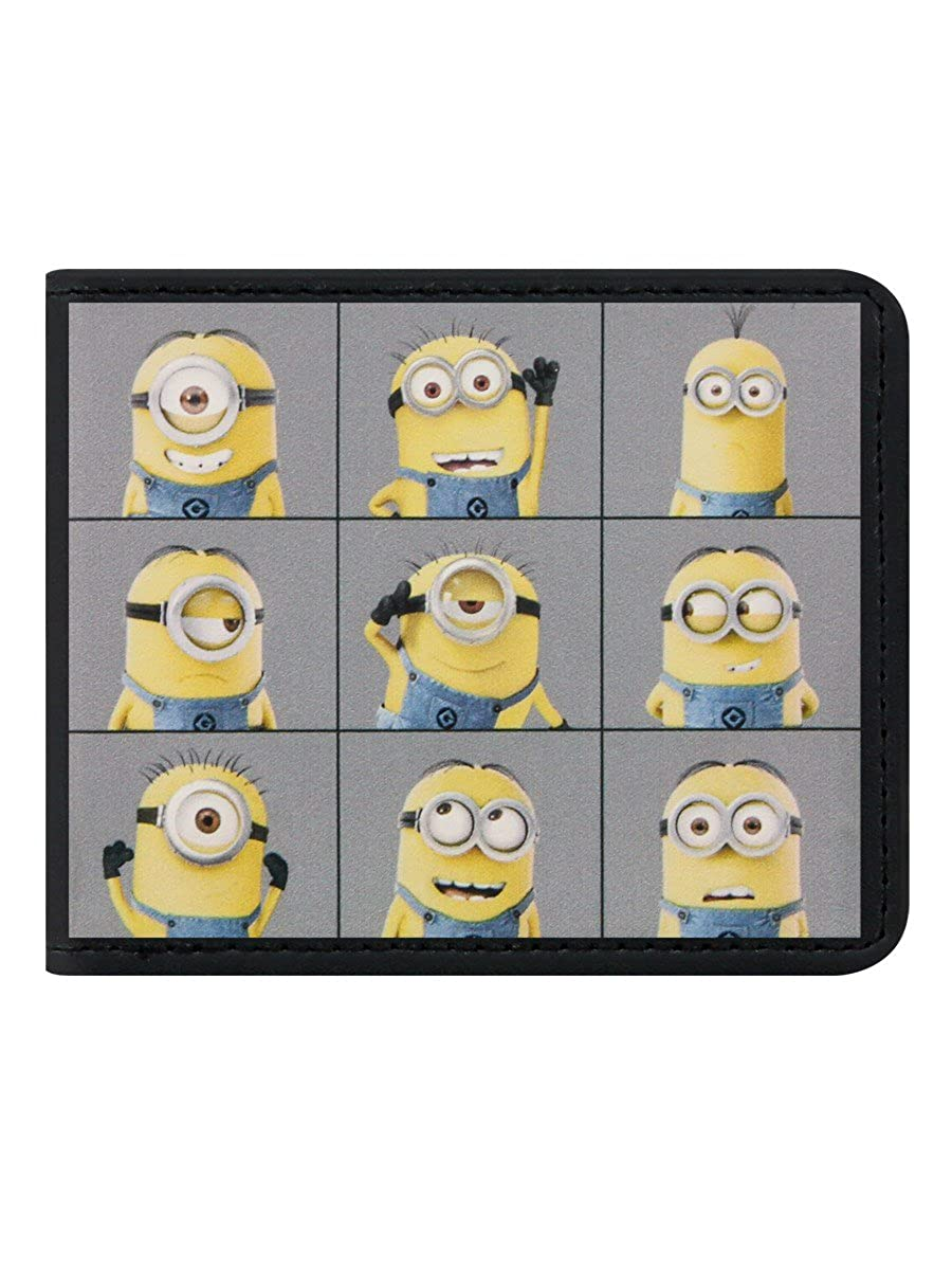 Despicable Me Minions Wallet Coin Pouch Blue//YELLOW MINIONS004001 AGE 3+ 13 cm