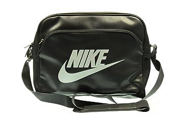 be71ddc0c5 Nike Heritage SI Track Men s Shoulder Bag grey Dark Grey White Size 40.5 x