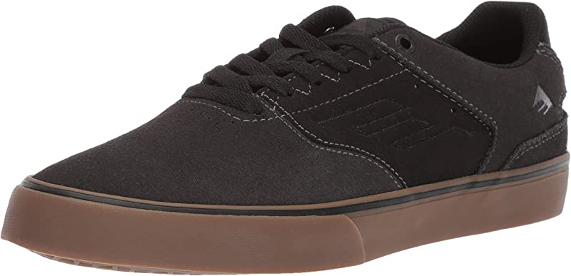 Emerica Reynolds Low Vulc Sneakers Damen Herren Unisex Grau/Kautschuk (Gummi)