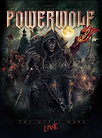 Amazon com: The Metal Mass - Live [Blu-ray]: Powerwolf