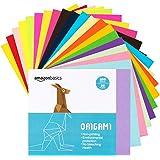 AmazonBasics Origami Paper, Assorted Colors, 200 Sheets